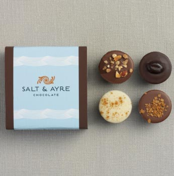 Salt & Ayre - Truffle Asst - 4 pc
