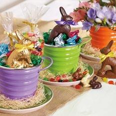 Easter Treat Tin - Dark Bunny