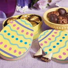 Pastel Easter Egg Box 28 pc